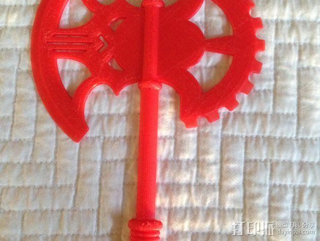 Mid-Evil斧子模型 3D模型  图5