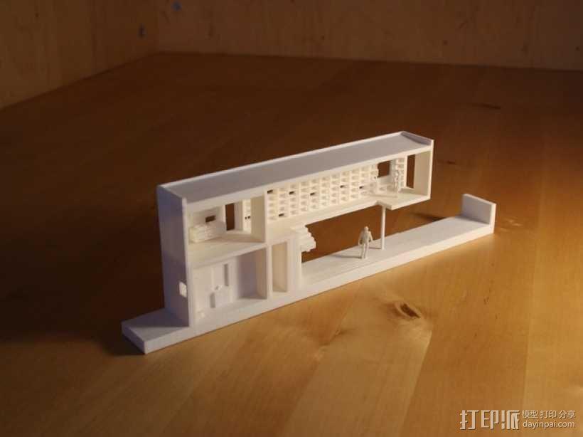 澳洲联储银行大厦 3D模型  图1