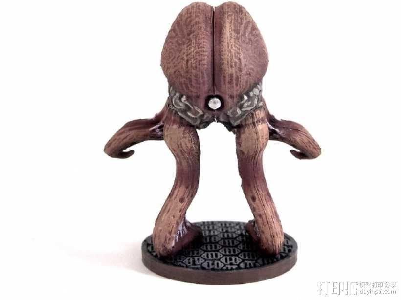 Vigazzi Psychovore外星生物 3D模型  图1