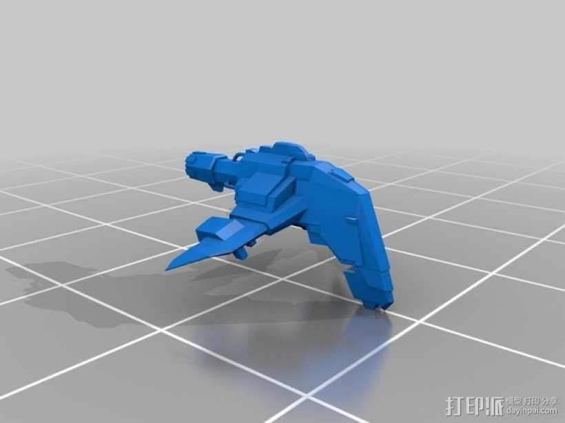 Caldari 护卫舰  3D模型  图4