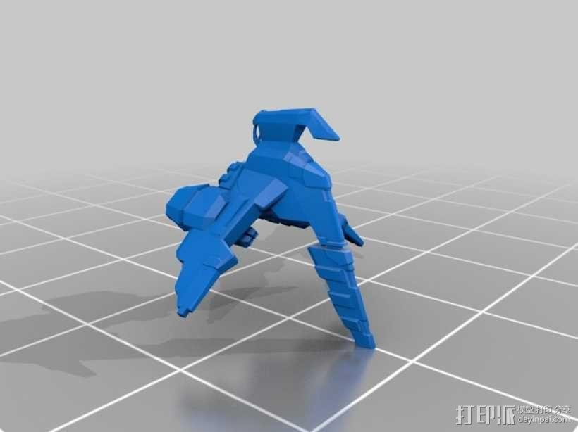 Caldari 护卫舰  3D模型  图3