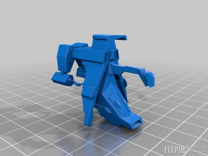 Caldari 护卫舰  3D模型  图6