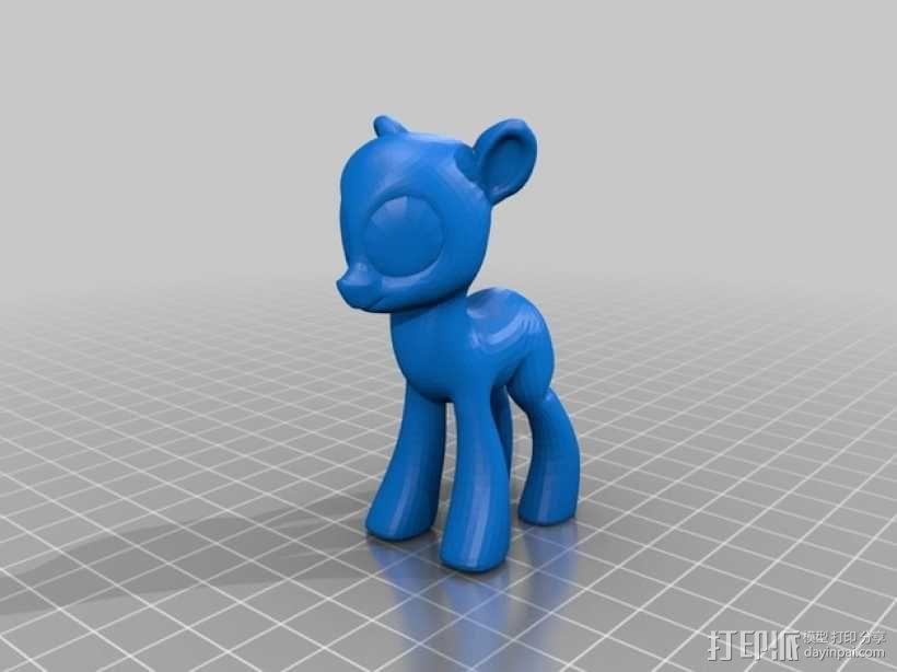 我的小马驹 Applejack模型 3D模型  图3