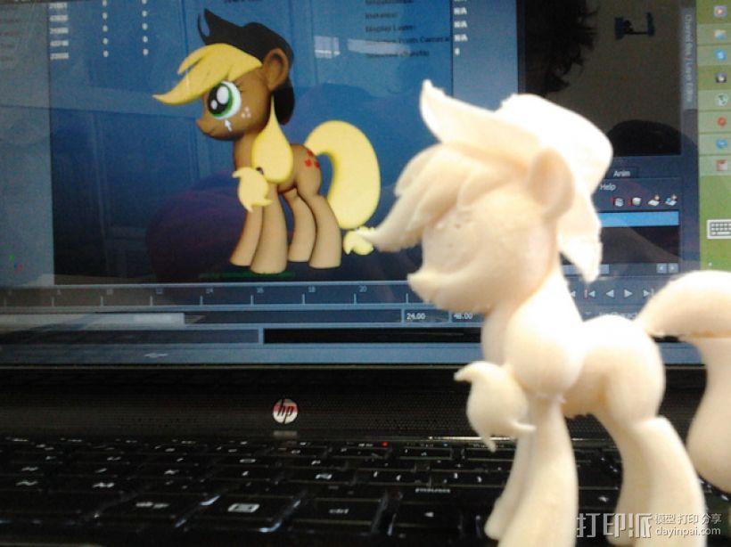 我的小马驹 Applejack模型 3D模型  图4
