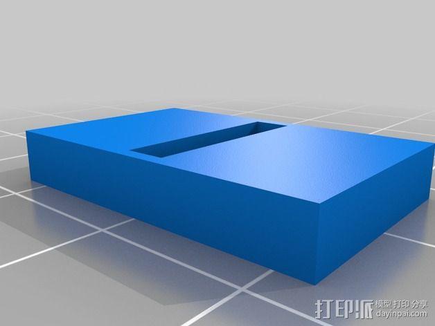 钛战机飞行员通信板 3D模型  图7