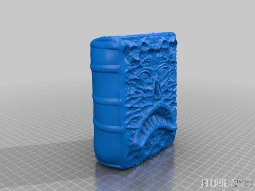 死亡灵书 3D模型  图1