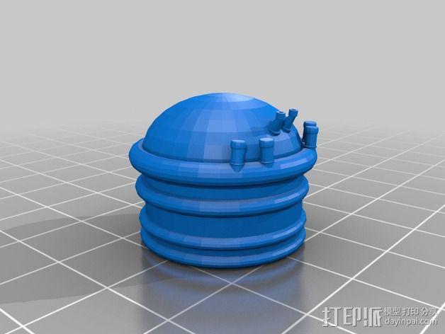 火箭排气管 3D模型  图5