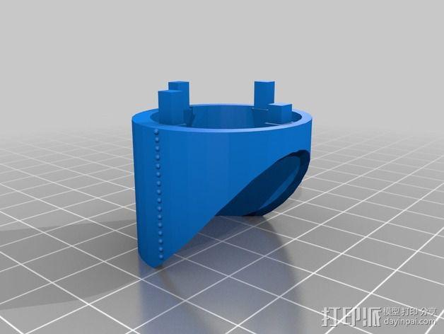 火箭排气管 3D模型  图7