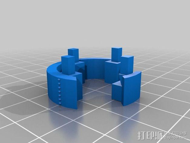 火箭排气管 3D模型  图6