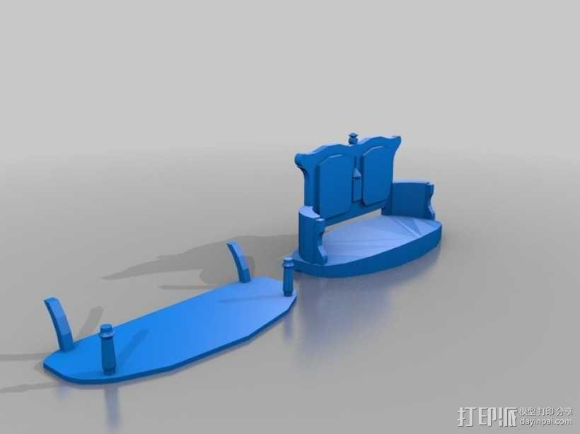 维多利亚沙发 3D模型  图2