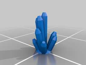 水晶  3D模型