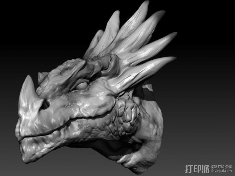 龙头  3D模型  图2