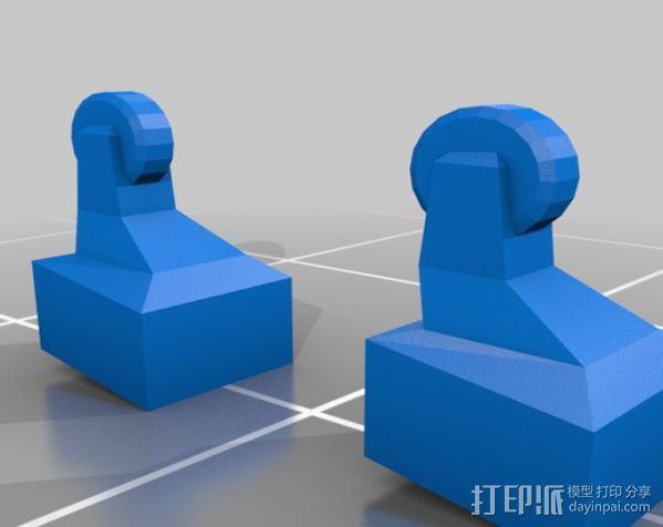 齐柏林硬式飞艇 3D模型  图15