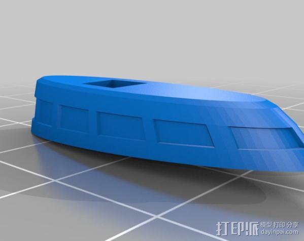 齐柏林硬式飞艇 3D模型  图19