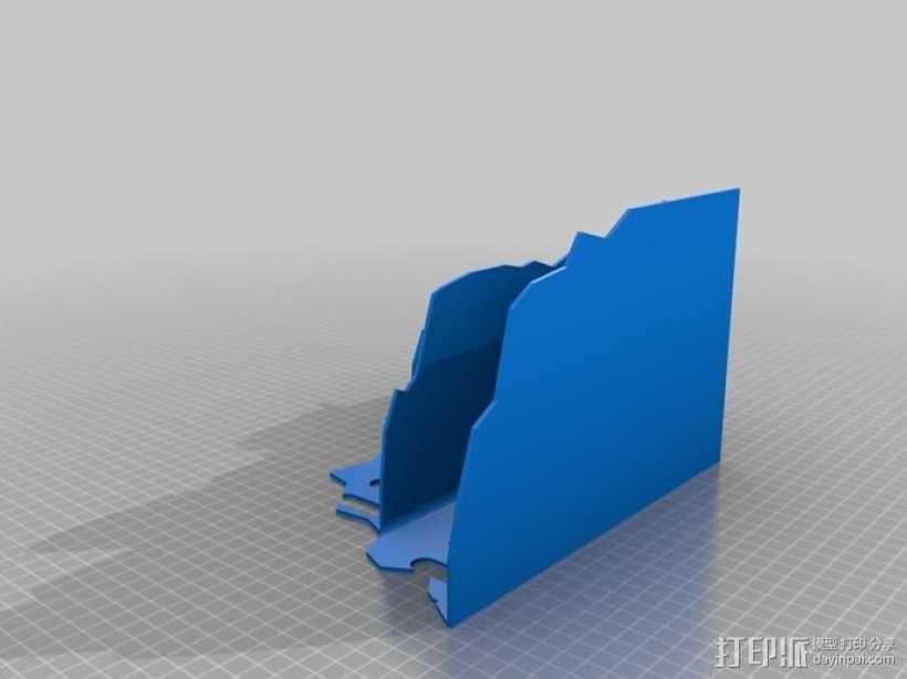 废墟建筑模型 3D模型  图2