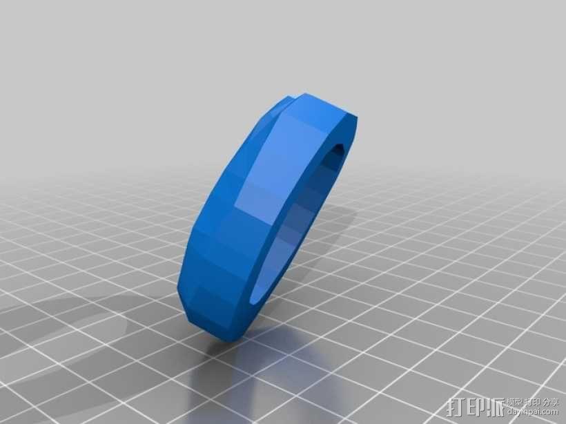 无主之地2Psycho面具 3D模型  图3