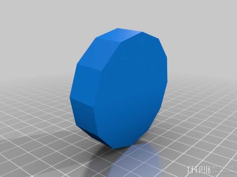 无主之地2Psycho面具 3D模型  图5