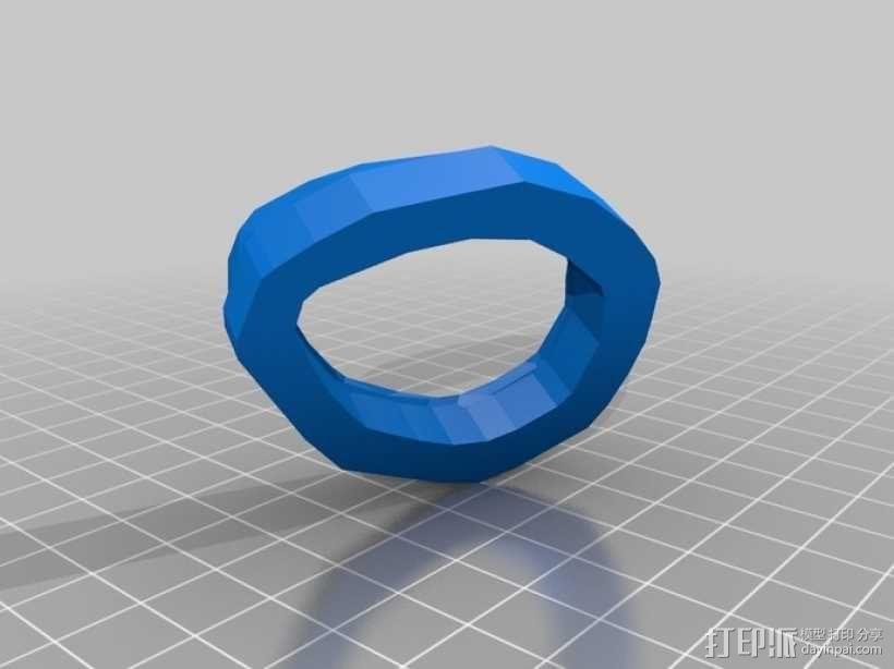 无主之地2Psycho面具 3D模型  图4