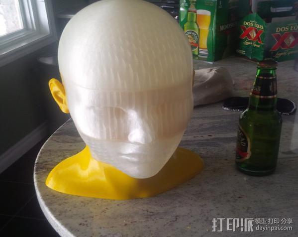 人头模型 3D模型  图4