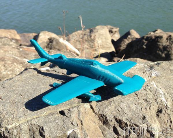 HH-7P攻击机 3D模型  图1