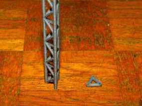 桥桁架 3D模型