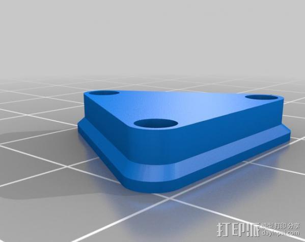 桥桁架 3D模型  图3