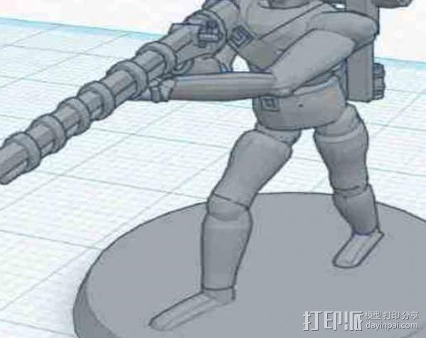 猎人模型 3D模型  图3