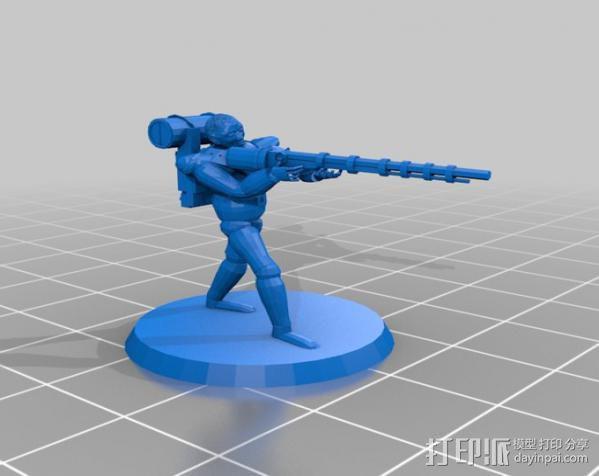 猎人模型 3D模型  图2