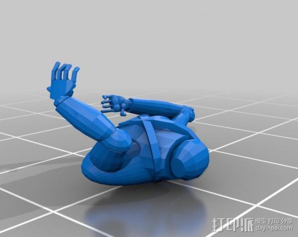 猎人模型 3D模型  图7