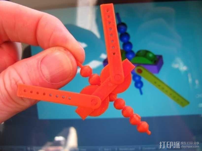 齿轮套筒链  3D模型  图6