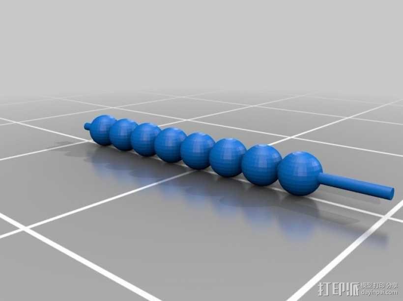 齿轮套筒链  3D模型  图7