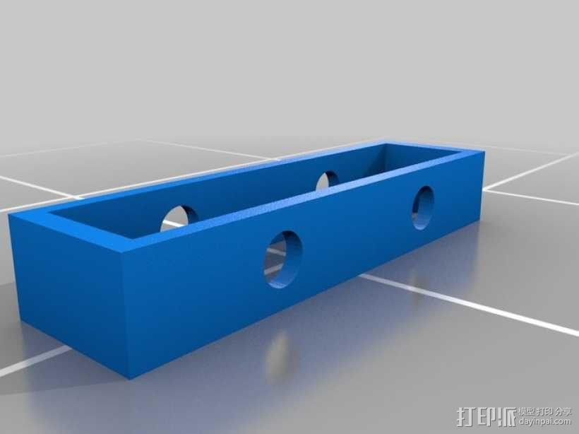 齿轮套筒链  3D模型  图5