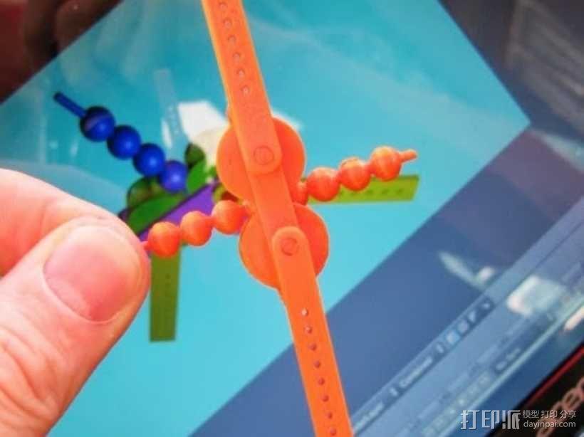 齿轮套筒链  3D模型  图4