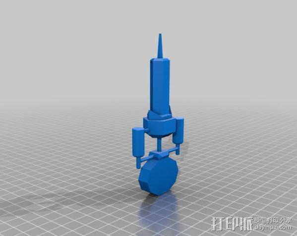 新维加斯注射器 3D模型  图2