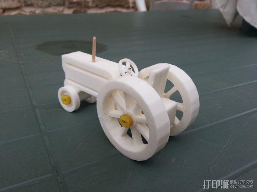 拖拉机 3D模型  图1