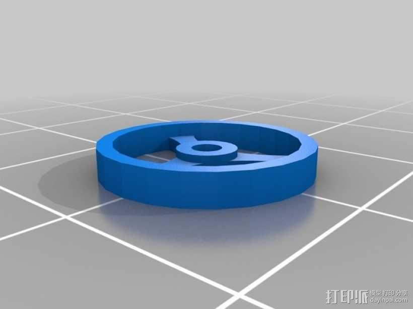 拖拉机 3D模型  图3