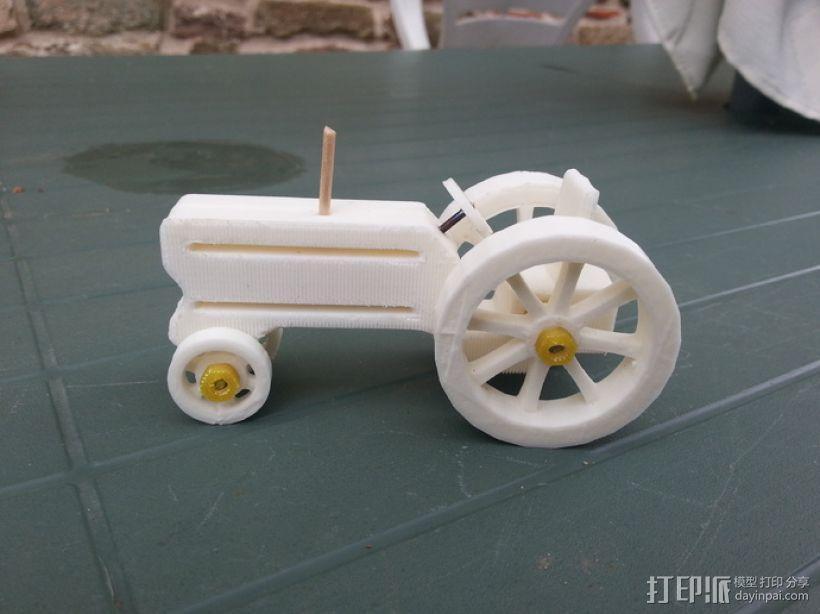 拖拉机 3D模型  图10