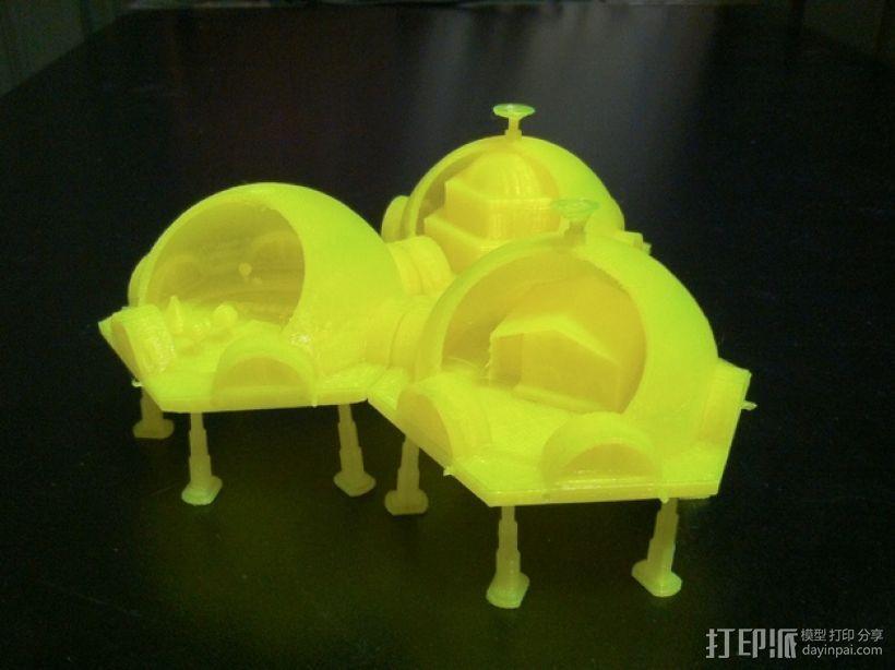 火星基地模型 3D模型  图2