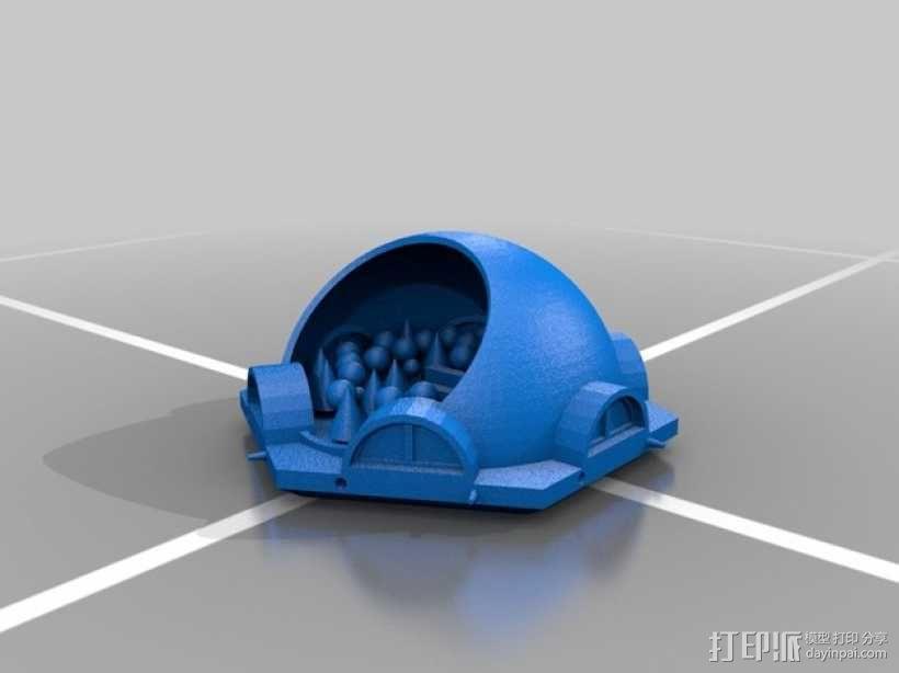 火星基地模型 3D模型  图5