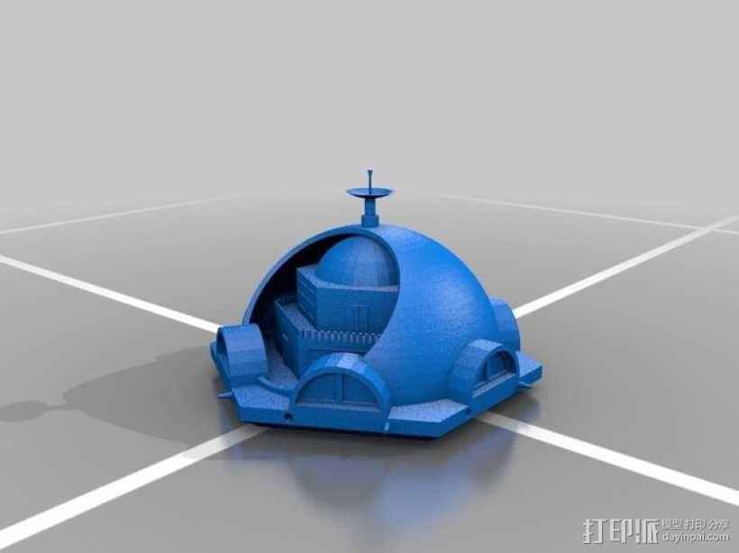 火星基地模型 3D模型  图6