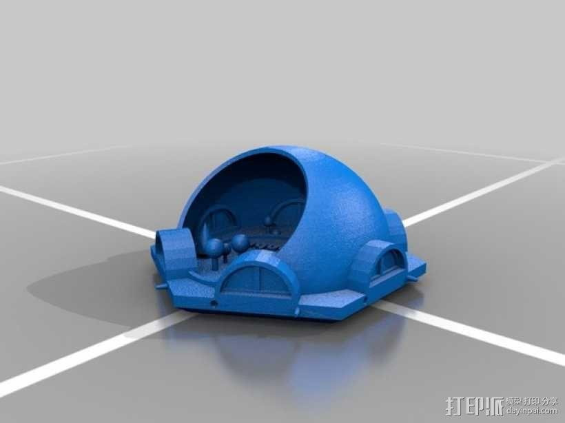 火星基地模型 3D模型  图7