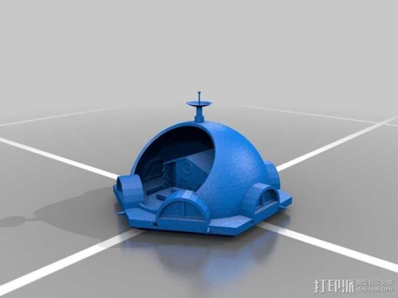 火星基地模型 3D模型  图8