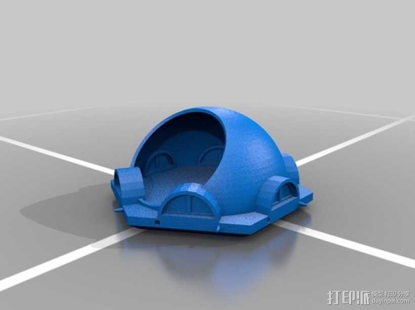 火星基地模型 3D模型  图9