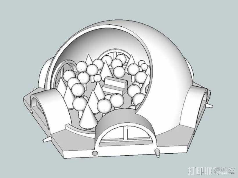 火星基地模型 3D模型  图12