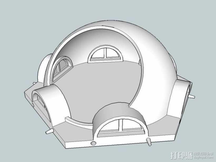 火星基地模型 3D模型  图15