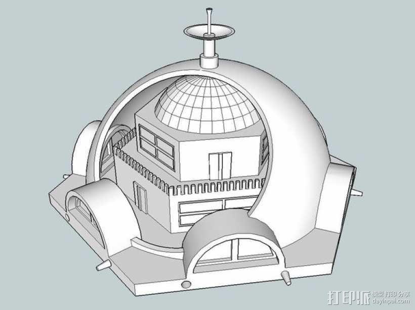 火星基地模型 3D模型  图11