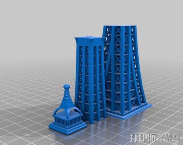 埃菲尔铁塔 3D模型  图6