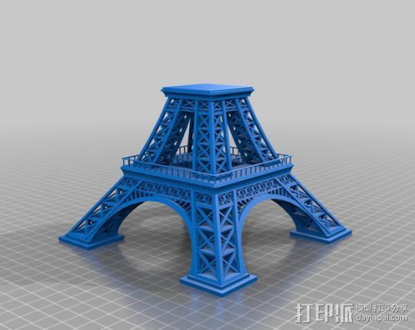 埃菲尔铁塔 3D模型  图7