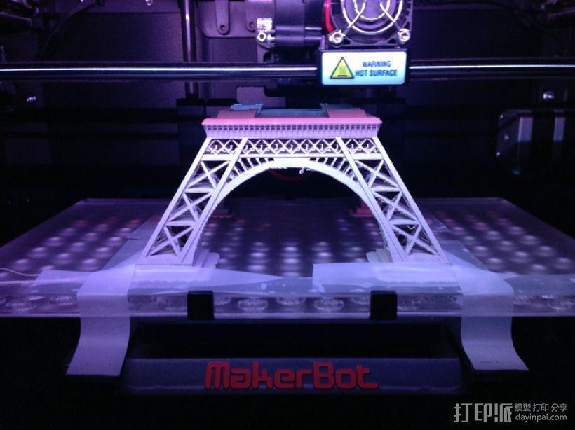 埃菲尔铁塔 3D模型  图13
