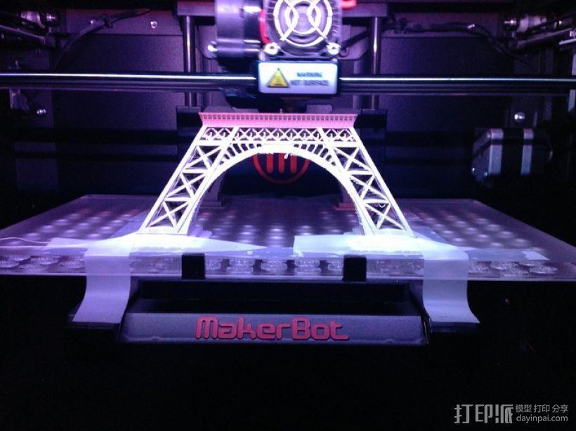 埃菲尔铁塔 3D模型  图12